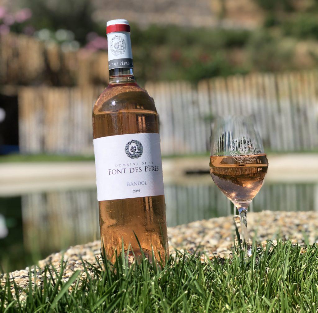 Bandol bouteille 2018 rosé